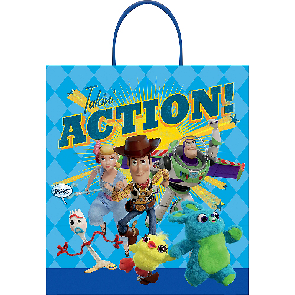 Toy Story 4 Trick-or-Treat Bag Image #1