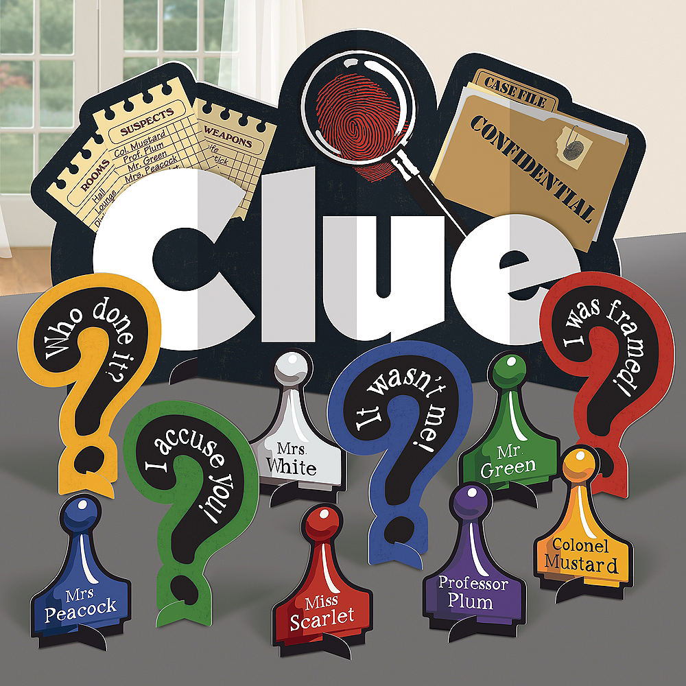 Clue Table Decorating Kit 11pc Image #1