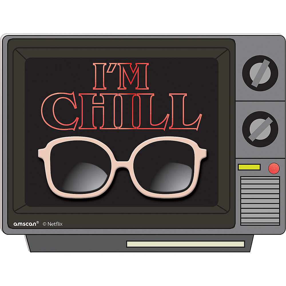 Mini I'm Chill Easel Sign - Stranger Things Image #1