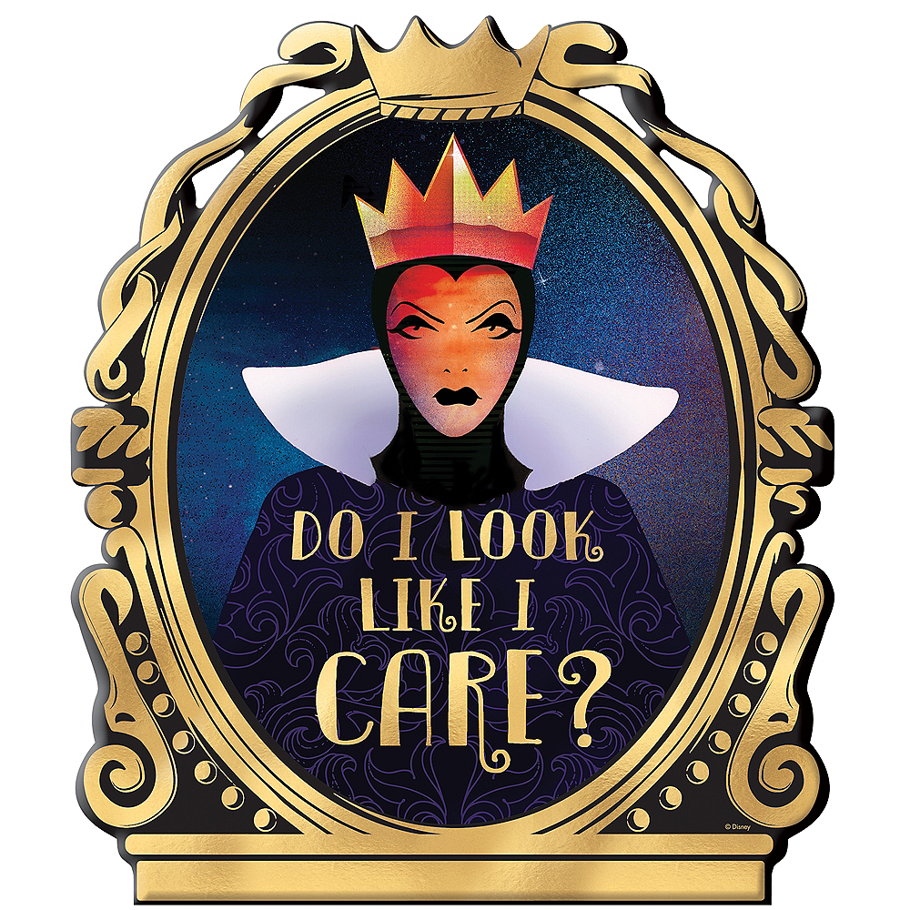 Evil Queen Easel Sign - Disney Villains Image #1