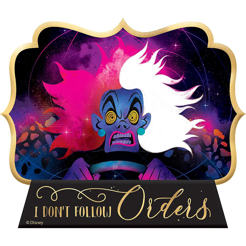 Mini Wicked Cruella Easel Sign - Disney Villains Image #1