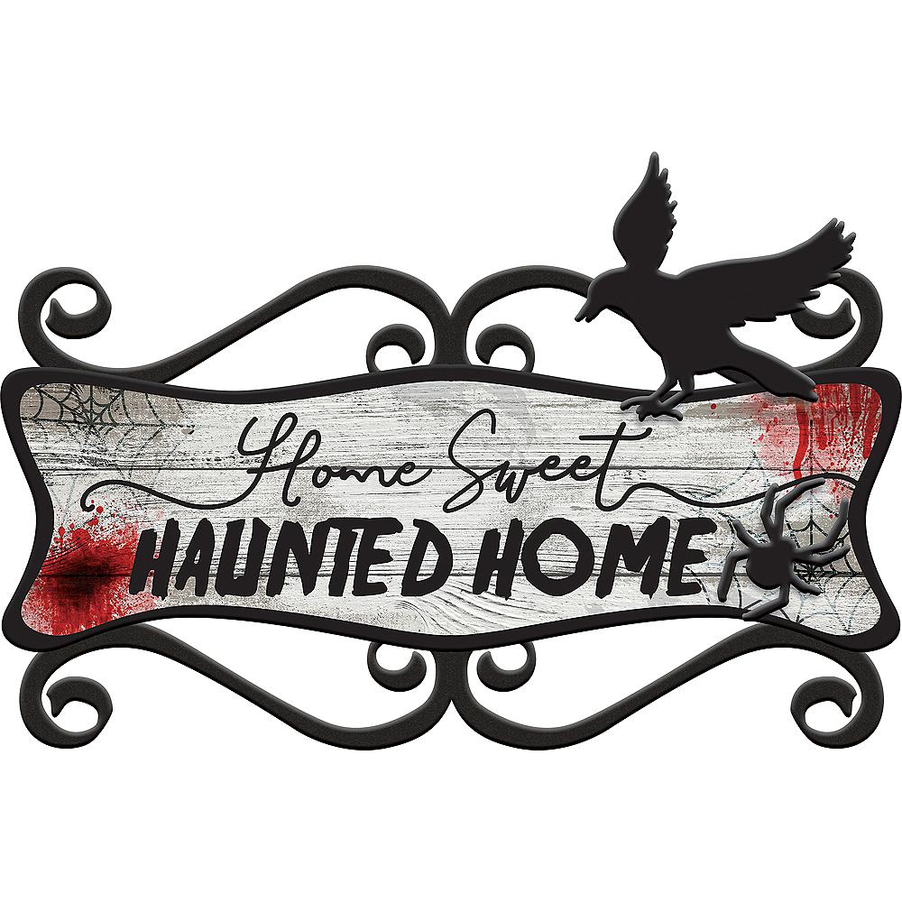 Dark Manor Home Sweet Haunted Home Sign Image #1