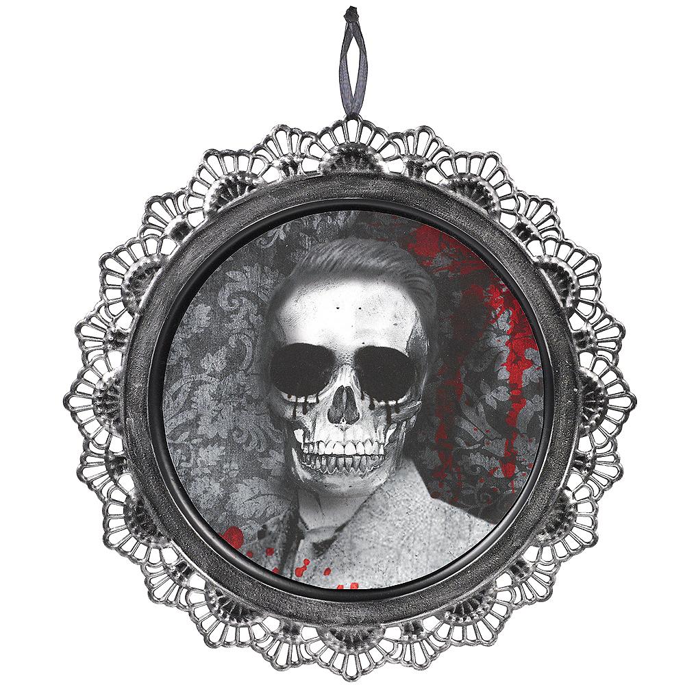Dark Manor Skeleton Portrait Sign Image #2