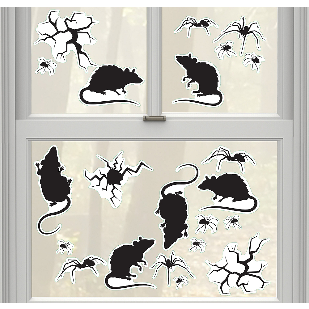 Bugs, Cracks & Rats Wall Decals 21ct Image #1