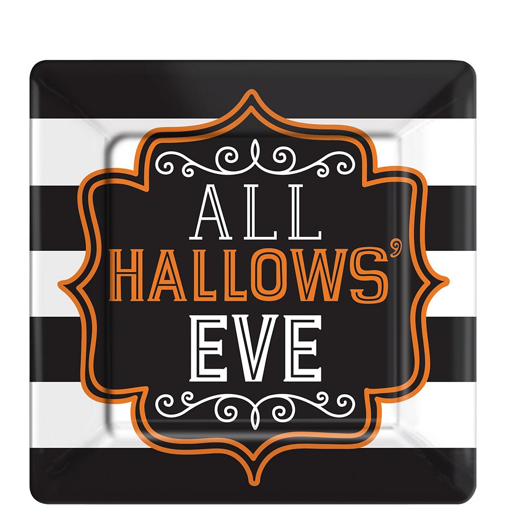 Hallows' Eve Square Dessert Plates 18ct Image #1