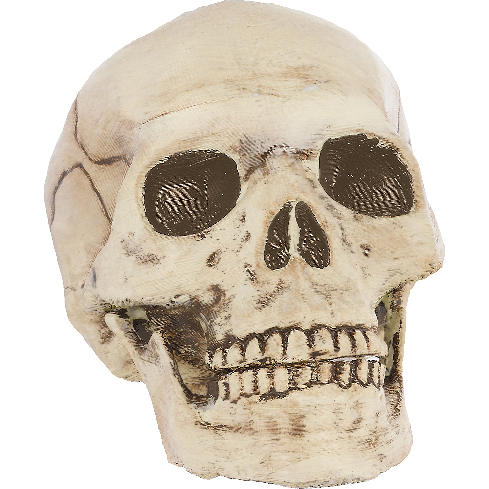 Jointed Mouth Skull Decoration Image #1