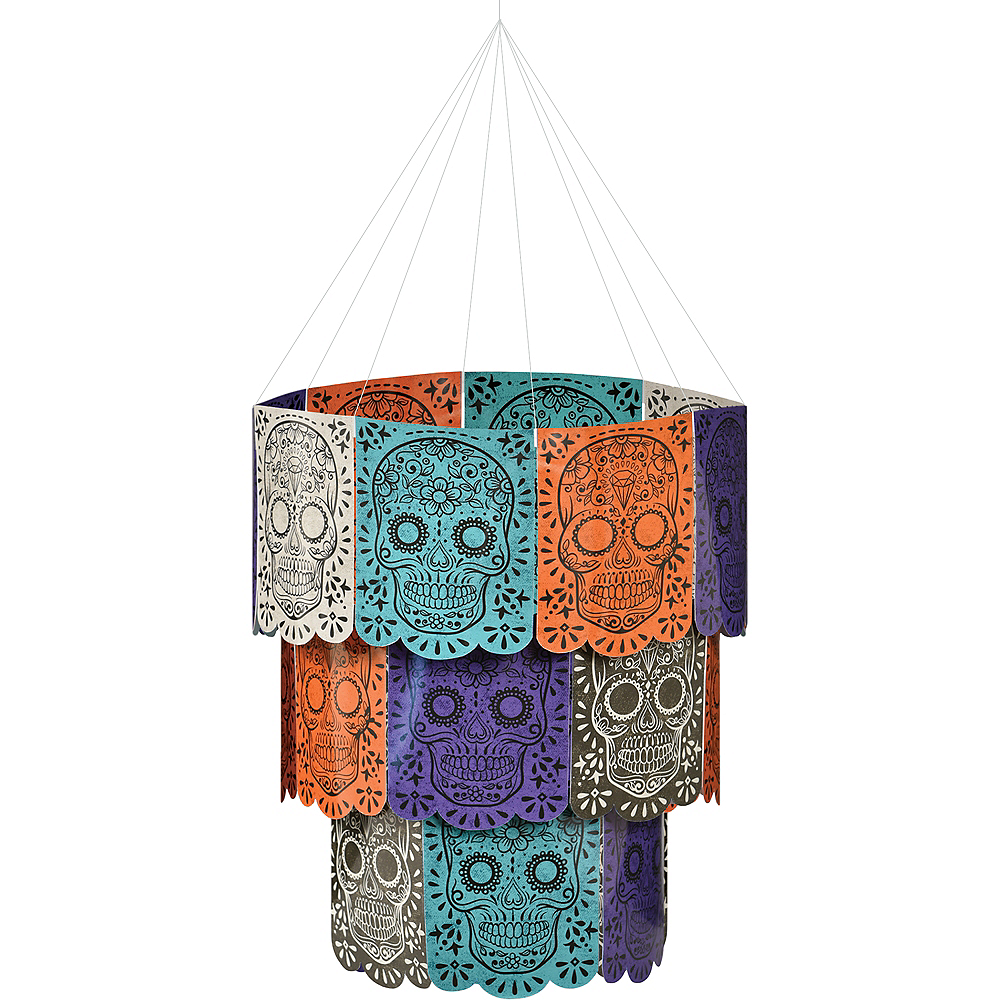 Sugar Skull Chandelier Decoration Image #1