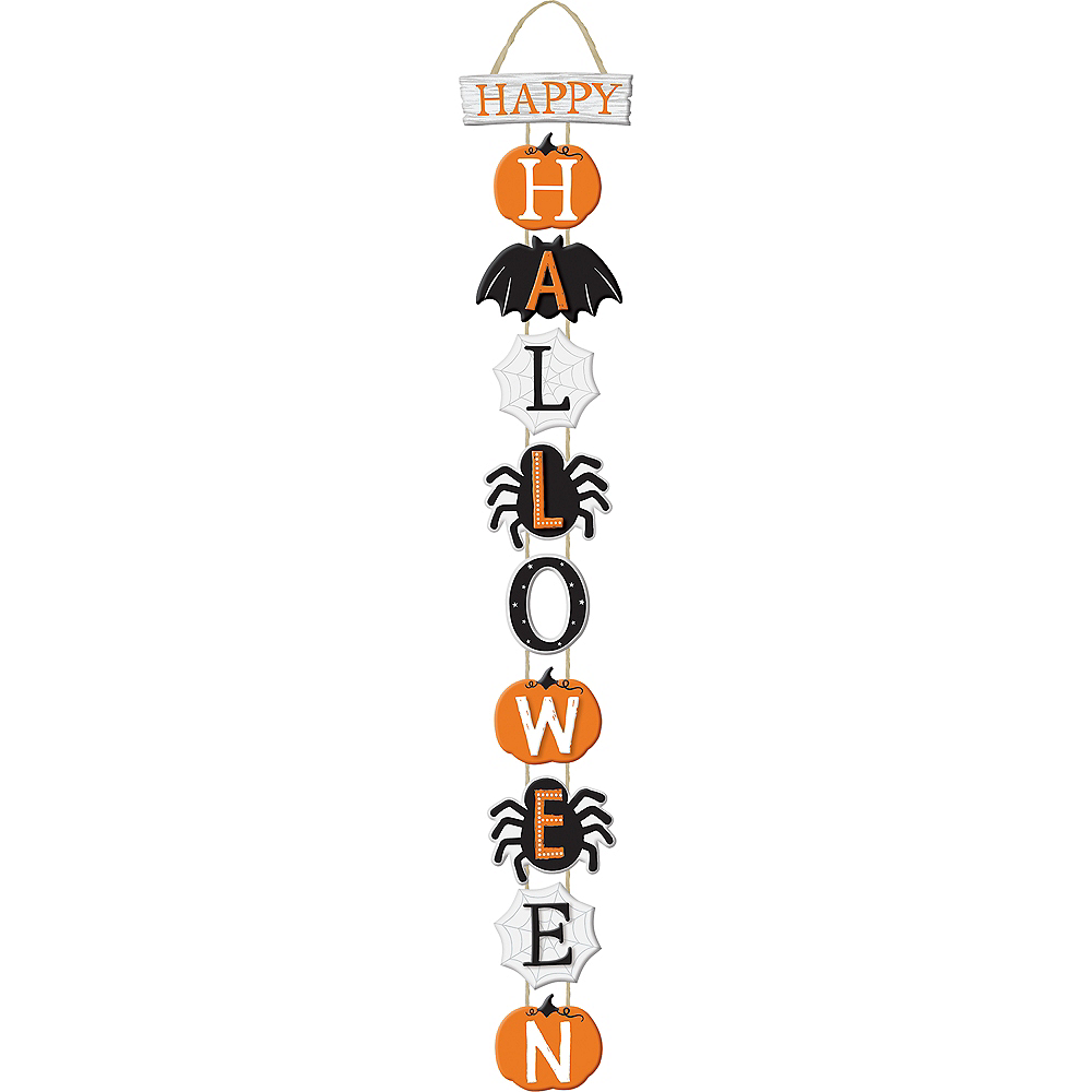 Happy Halloween Stacked Sign Image #1