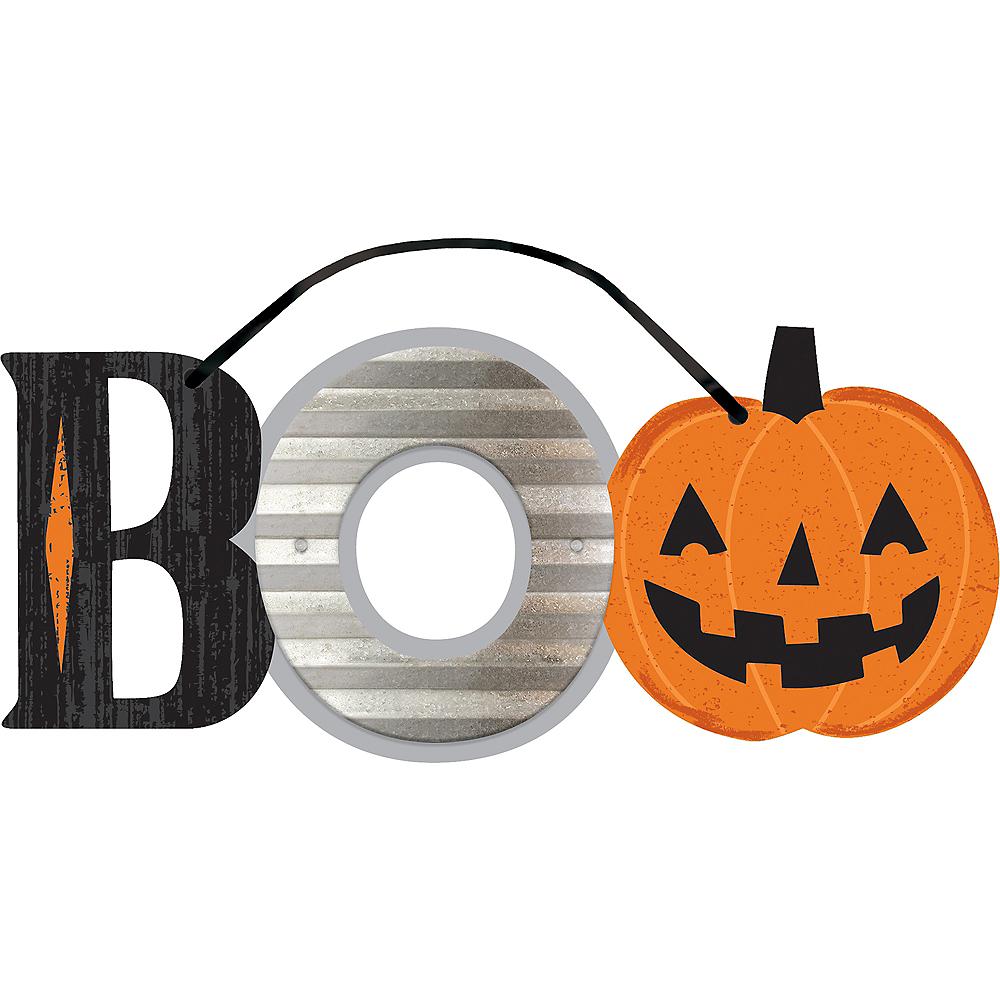 Mini Boo Halloween Sign Image #1