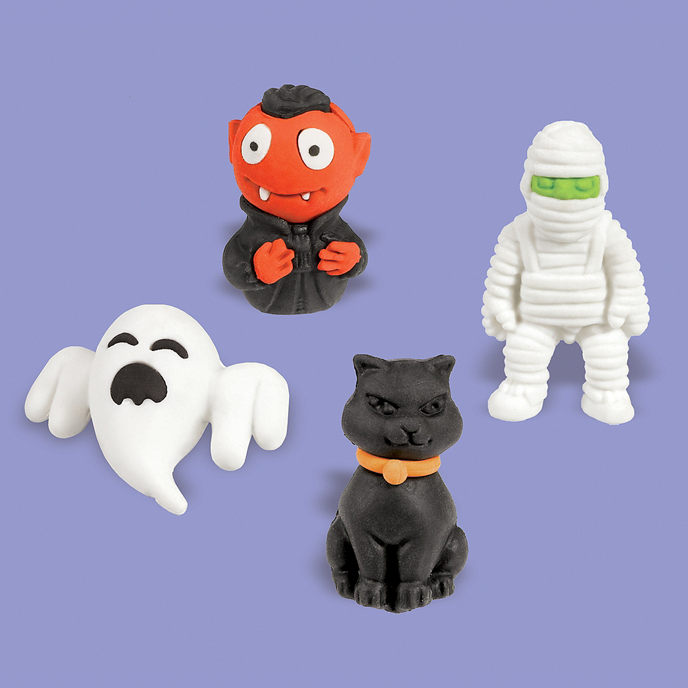 Nav Item for 3D Halloween Erasers 12ct Image #1