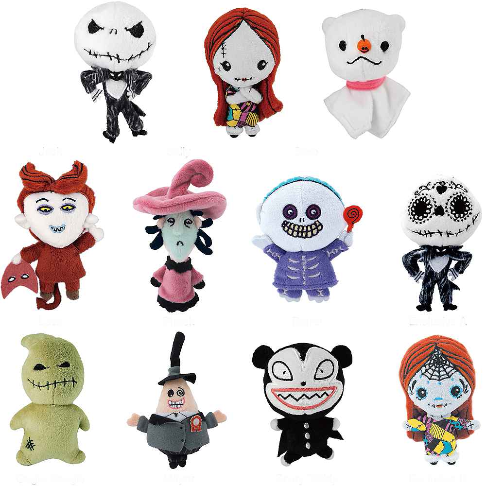 Clip-On The Nightmare Before Christmas Plush Mystery Pack Image #1