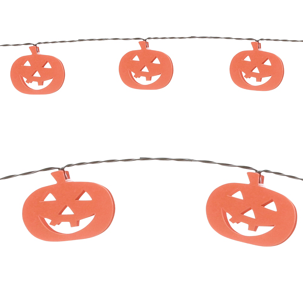 Jack-o'-Lantern LED String Lights Image #1