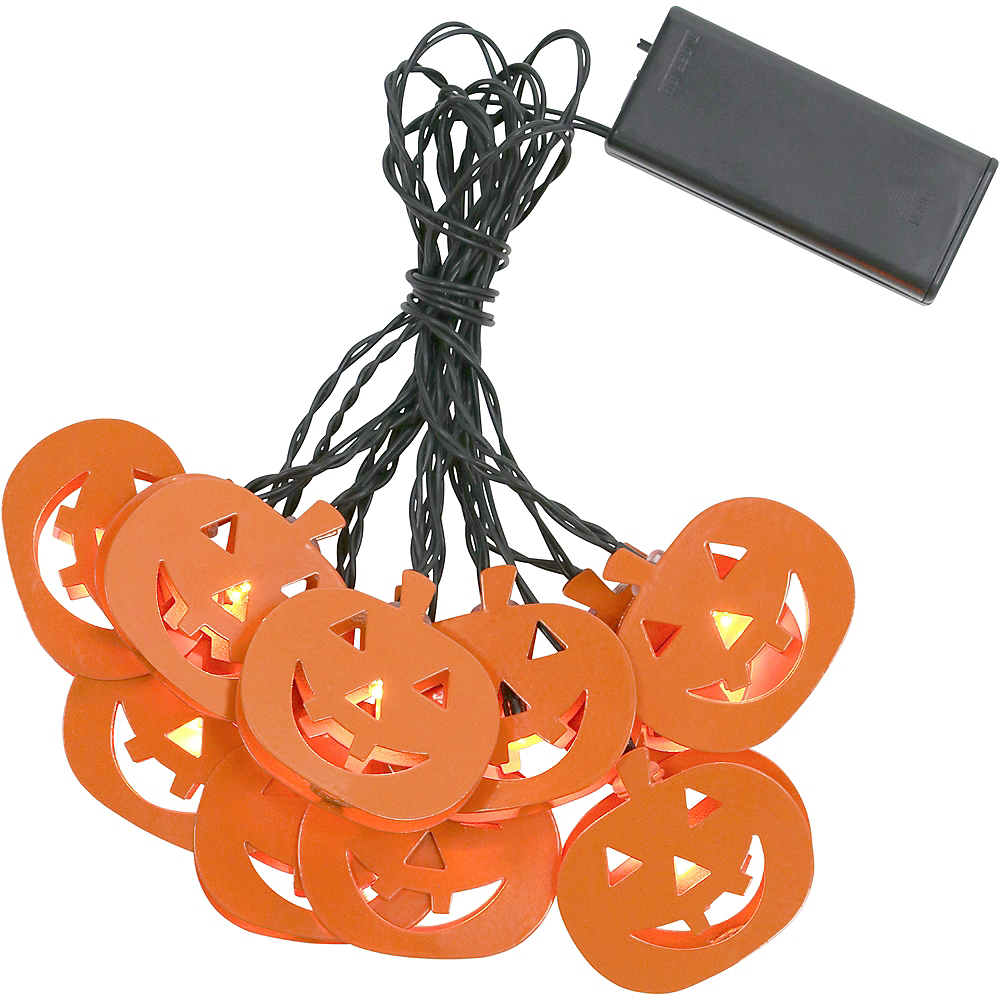 Jack-o'-Lantern LED String Lights Image #3