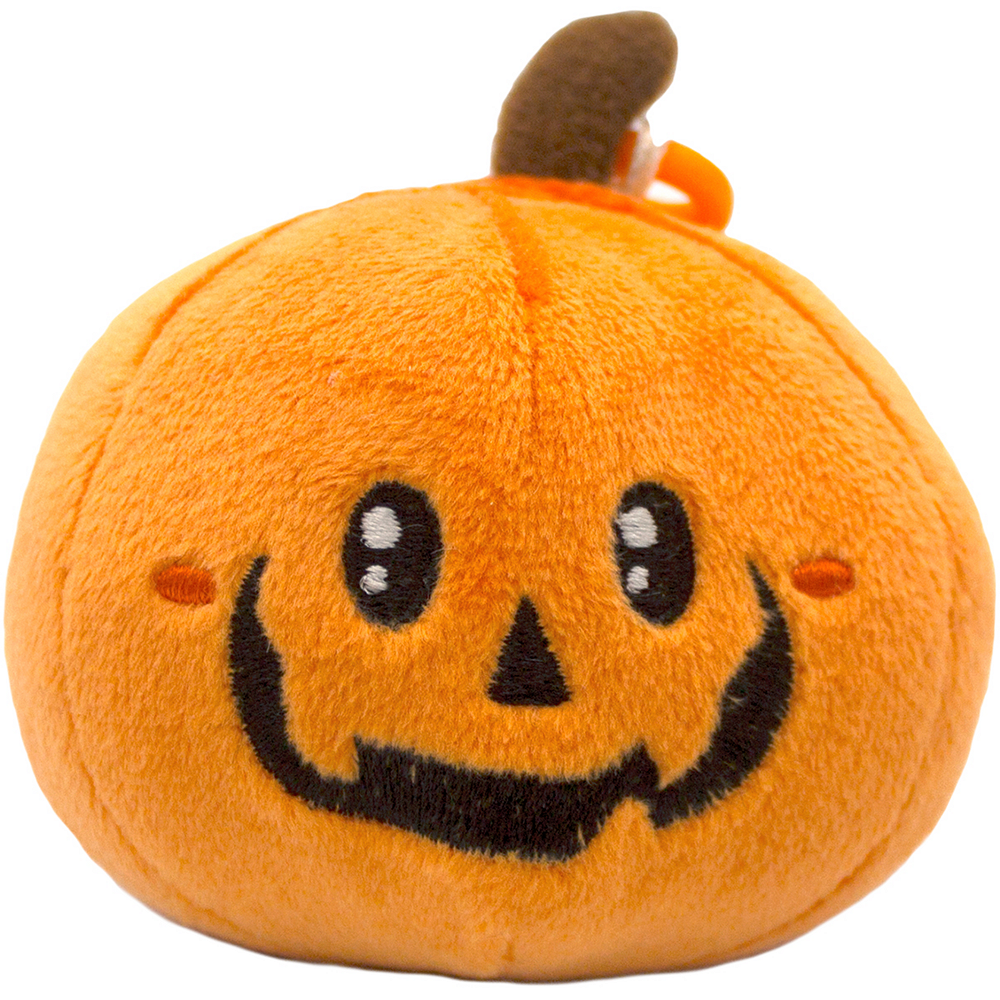 Clip-On Pumpkin-Scented Backpack Buddies Plush Image #1