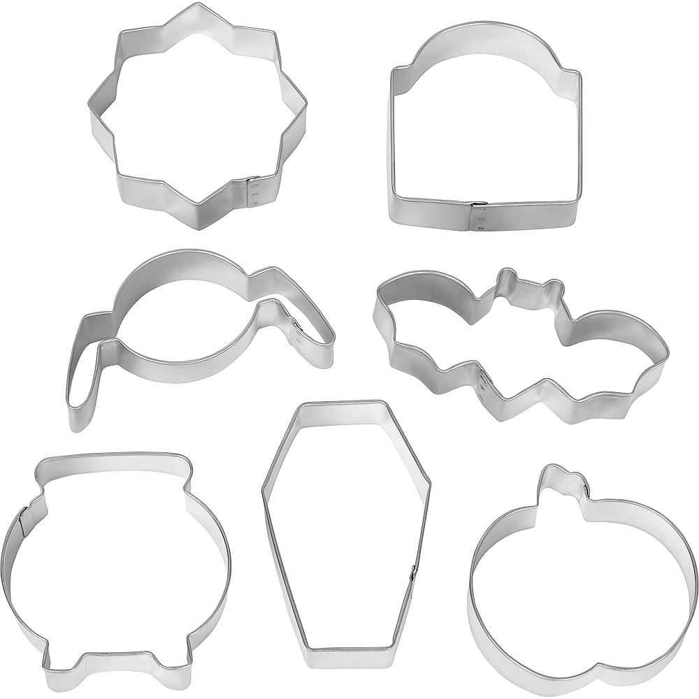 Wilton Halloween Cookie Cutter Set 7pc Image #1