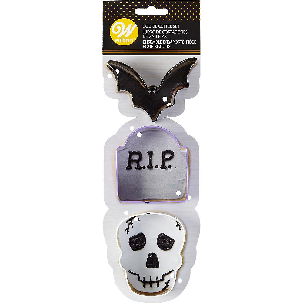 Wilton Spooky Halloween Cookie Cutter Set 3pc Image #1