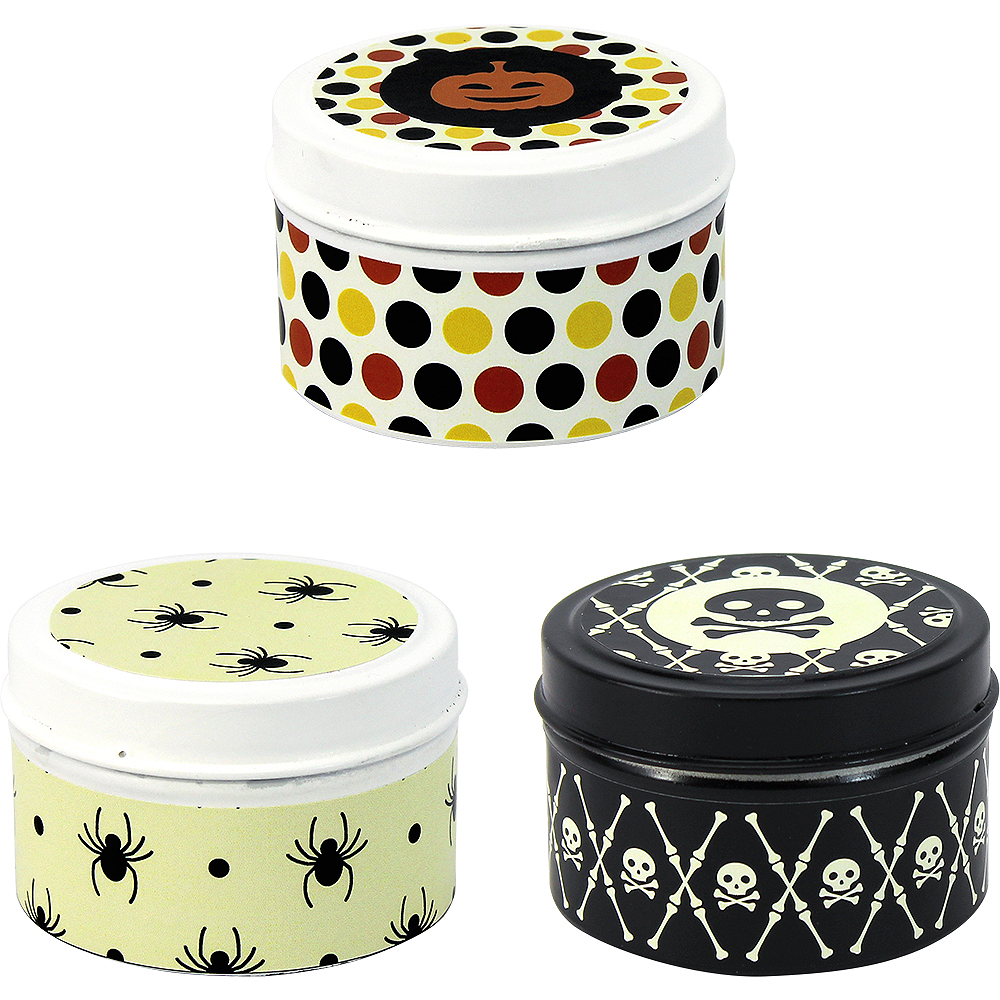 Nav Item for Printed Halloween Tin Candle Image #1