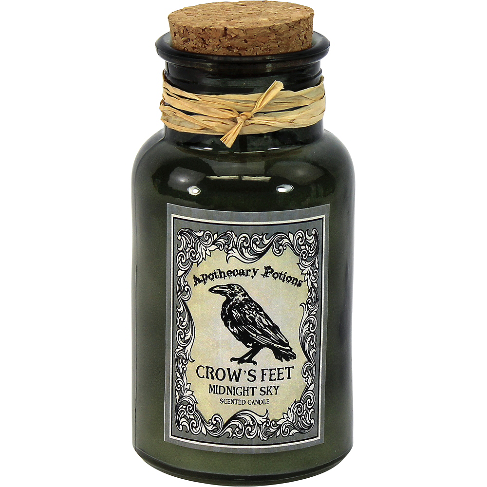 Apothecary Jar Candle with Midnight Sky Scent Image #1