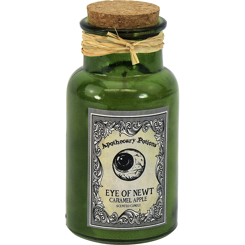 Apothecary Jar Candle with Caramel Apple Scent Image #1