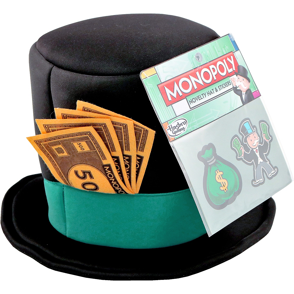 Adult Monopoly Costume Accessory Kit Image #1