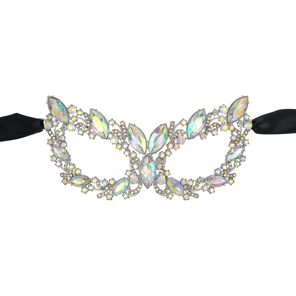 Rhinestone Eye Mask Image #1
