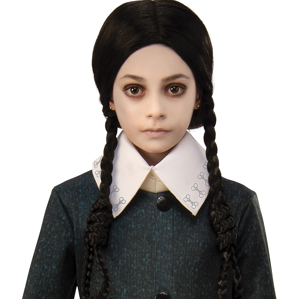 Child Wednesday Wig The Addams Family Animated Movie