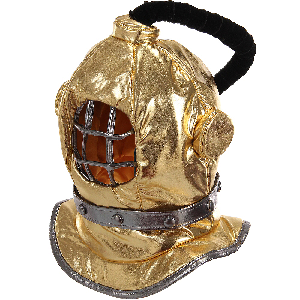 Plush Diving Bell Helmet Mask Image #1