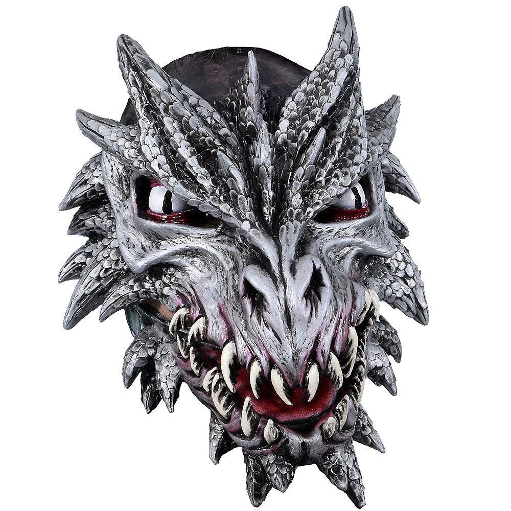 Latex Dragon Mask Image #1
