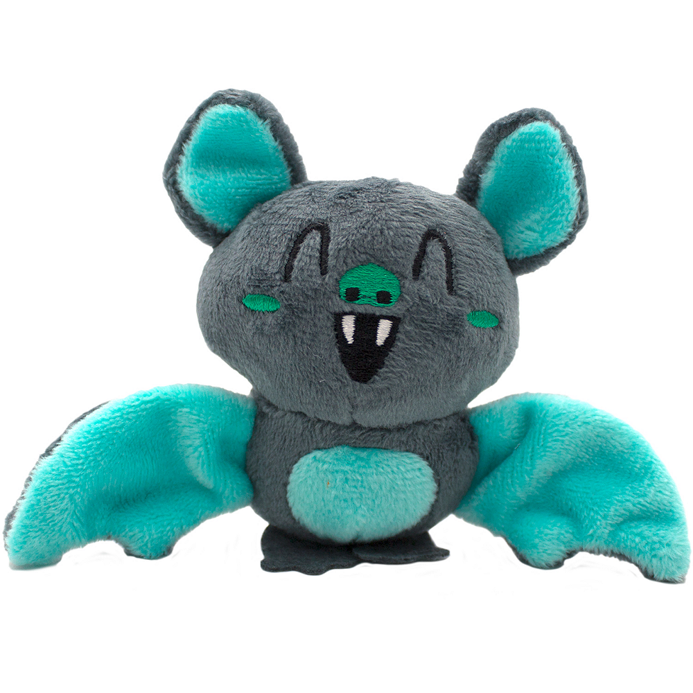 Clip-On Mint Chocolate-Scented Bat Backpack Buddies Plush Image #1