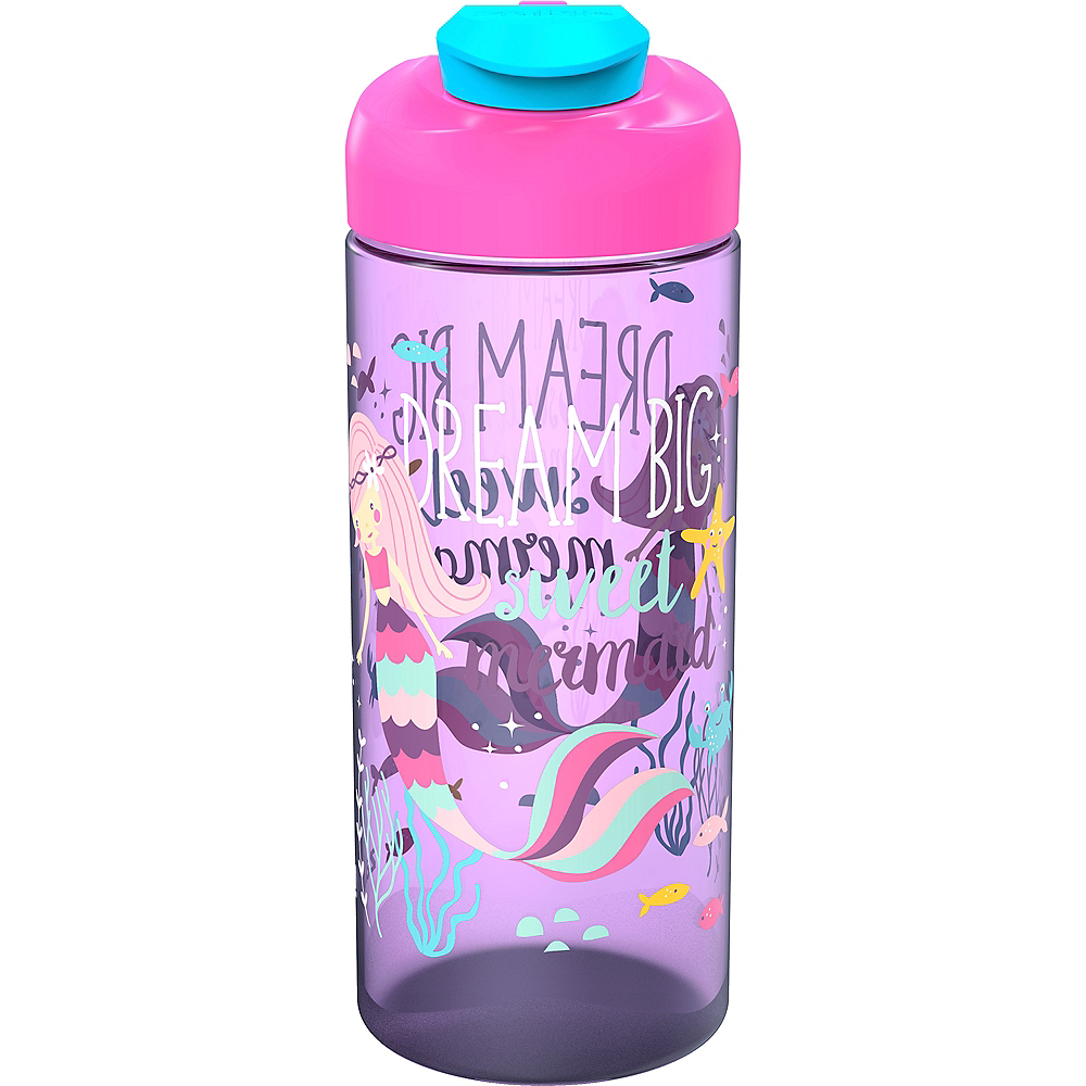 Mermaid Water Bottle Image #1