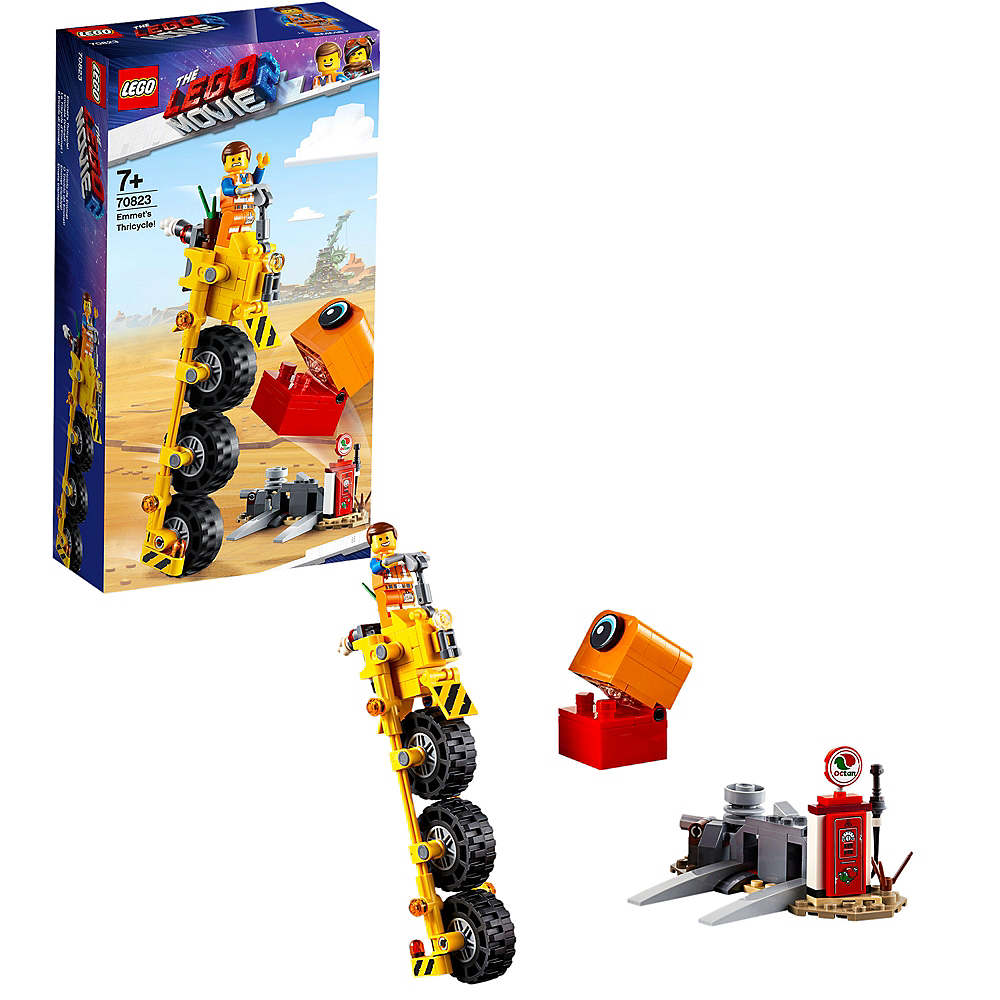 Lego Movie 2: The Second Part Emmet's Thricycle! 174pc - 70823 Image #1