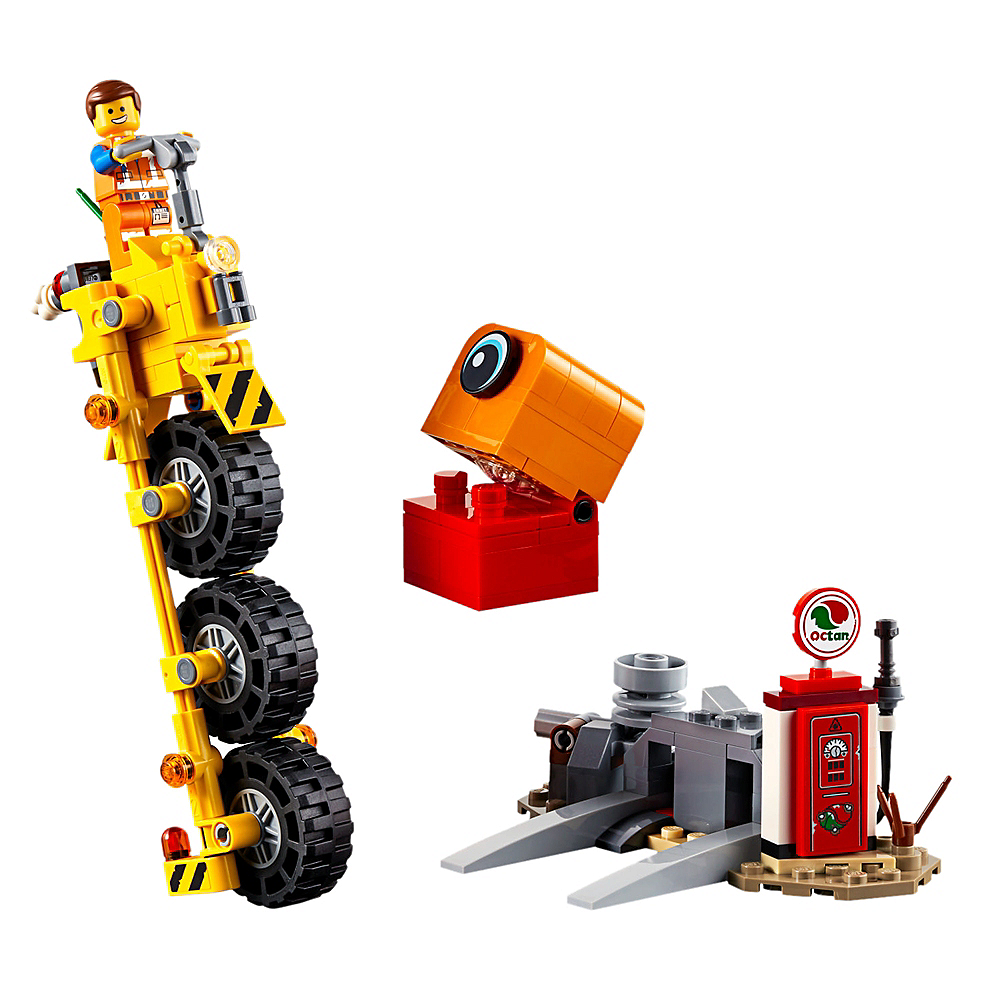 Lego Movie 2: The Second Part Emmet's Thricycle! 174pc - 70823 Image #2