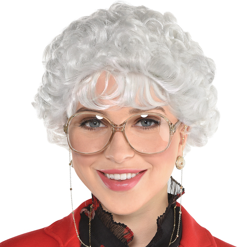Witty Senior Wig Image #1