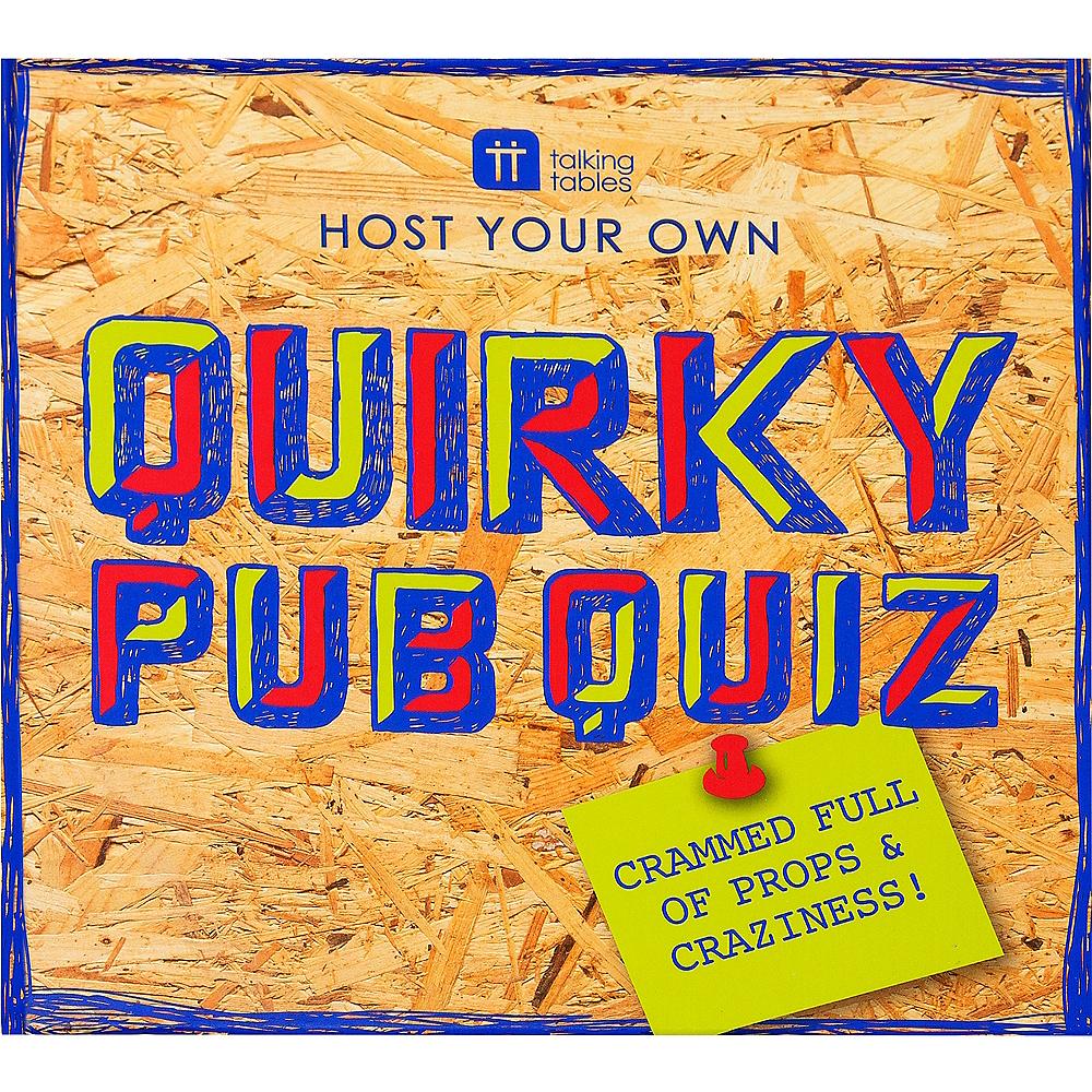 Talking Tables Quirky Pub Quiz Image #2