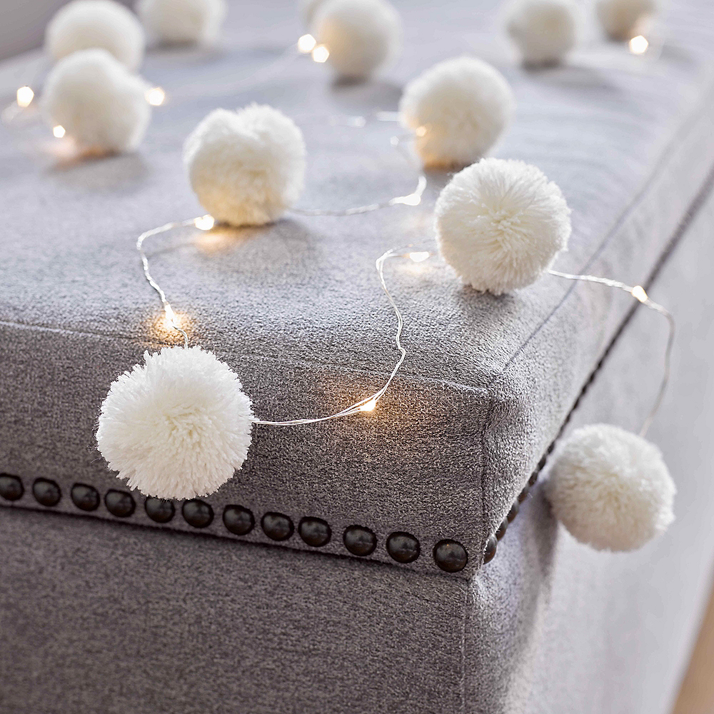 Pom Pom LED String Lights Image #3