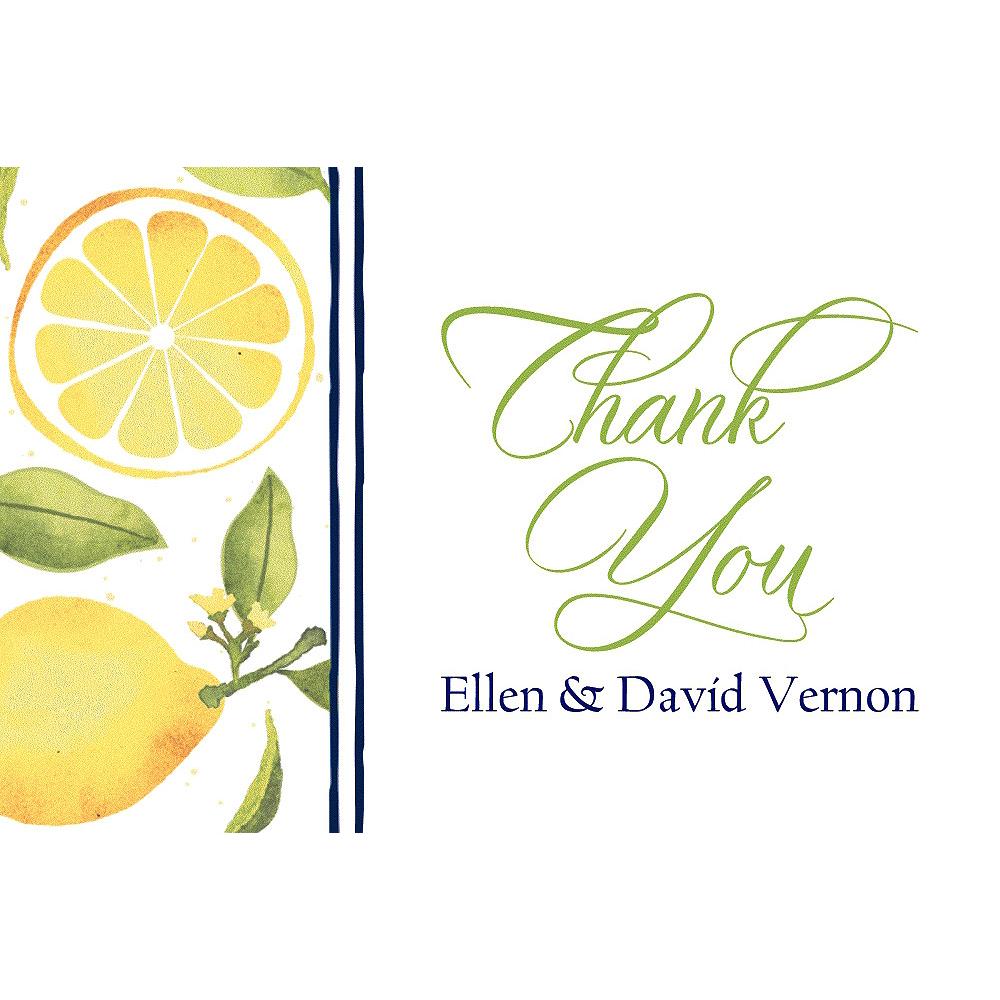 Custom Lemon Thank You Notes Image #1