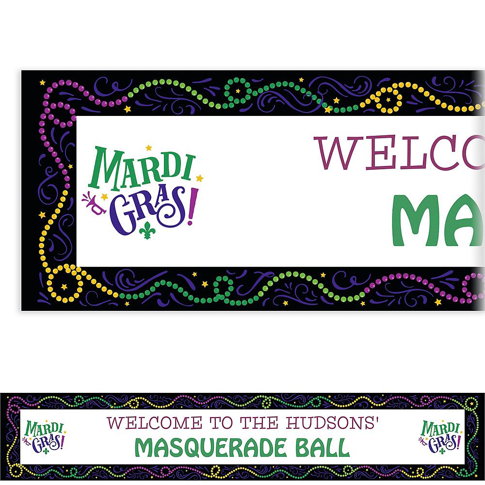 Custom Good Times Mardi Gras Banners Image #1