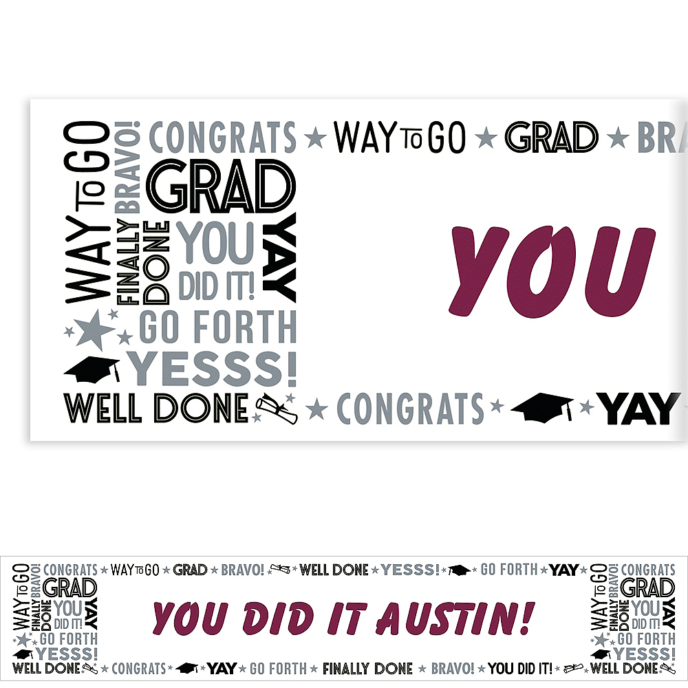Nav Item for Custom Grad Grid Banners Image #1