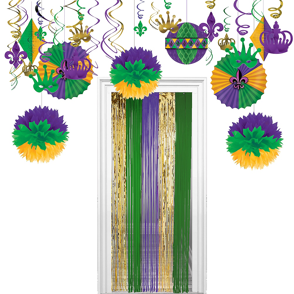 Mardi Gras Decorating Kit Image #1