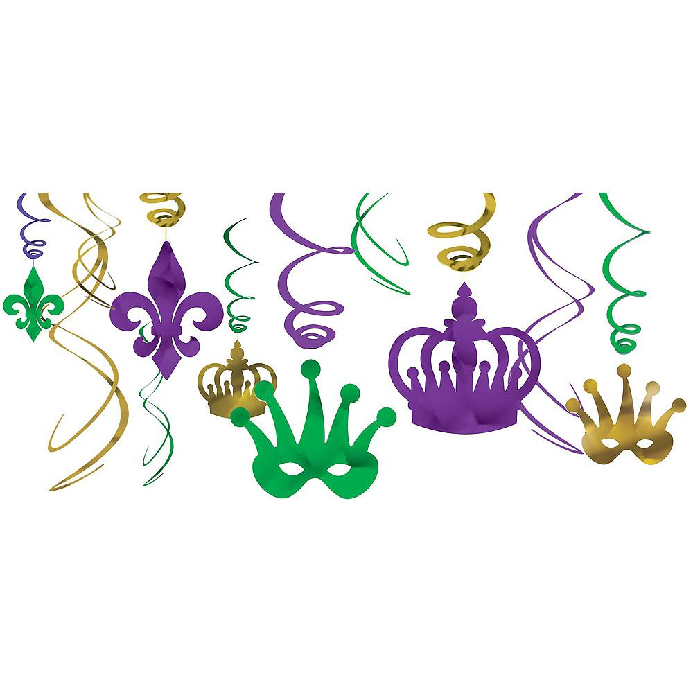 Mardi Gras Decorating Kit Image #2