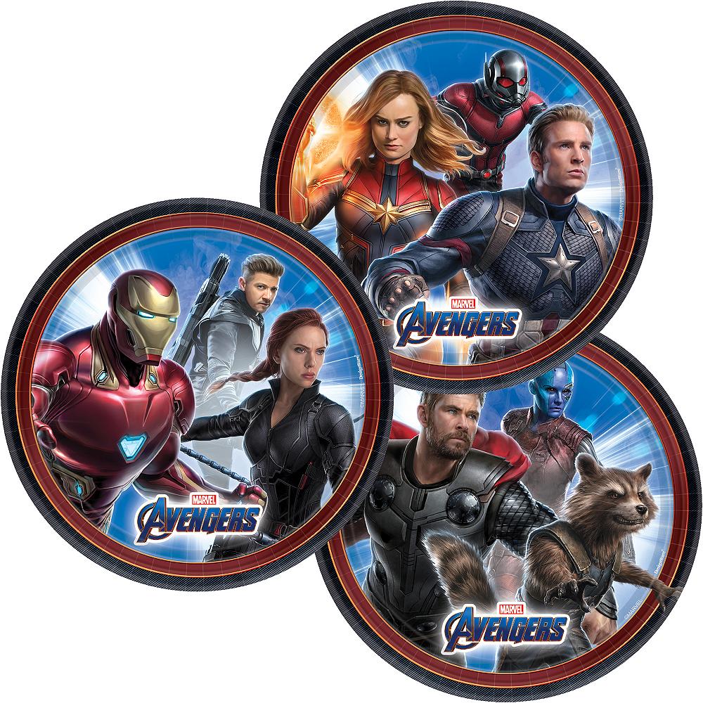 Avengers: Endgame Dessert Plates 8ct Image #1