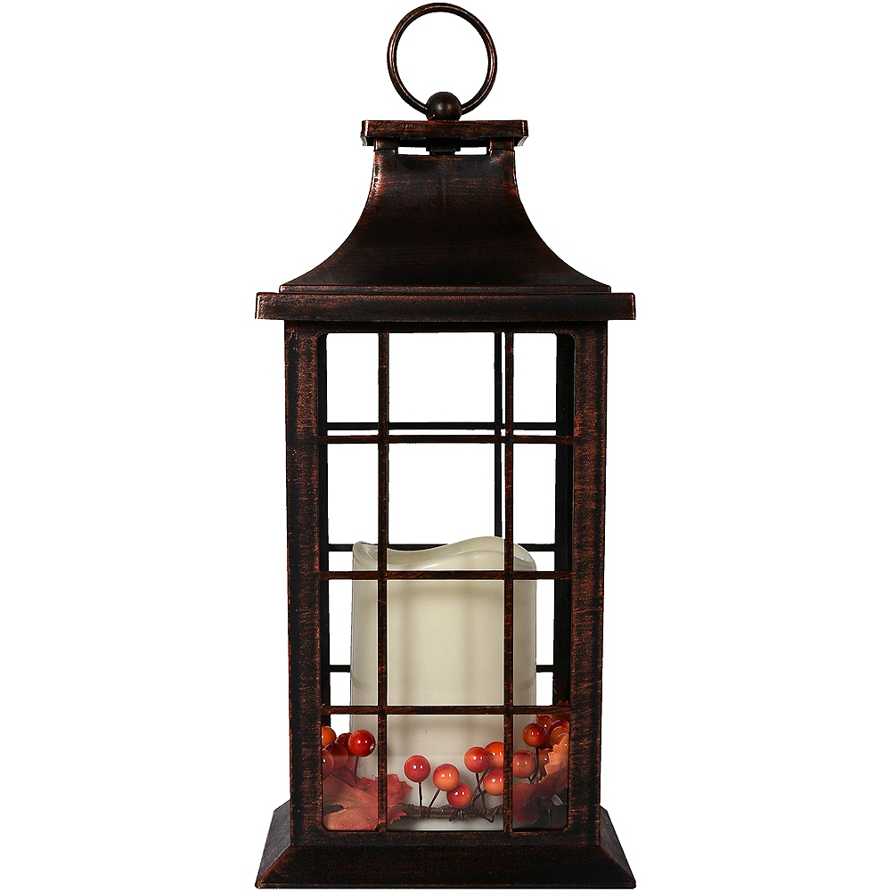 Nav Item for Harvest Fall Rustic Lantern Image #1