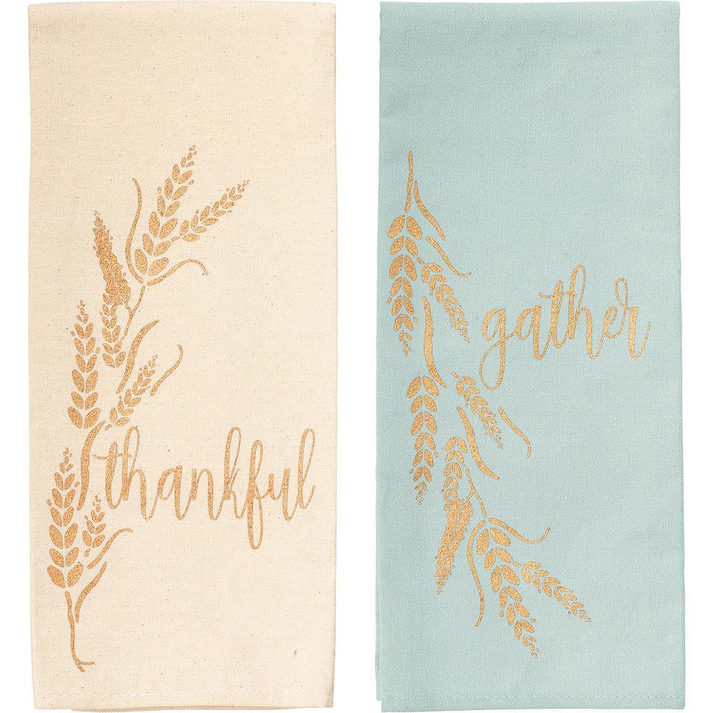 Inspirational Fall Tea Towels 2ct Image #1