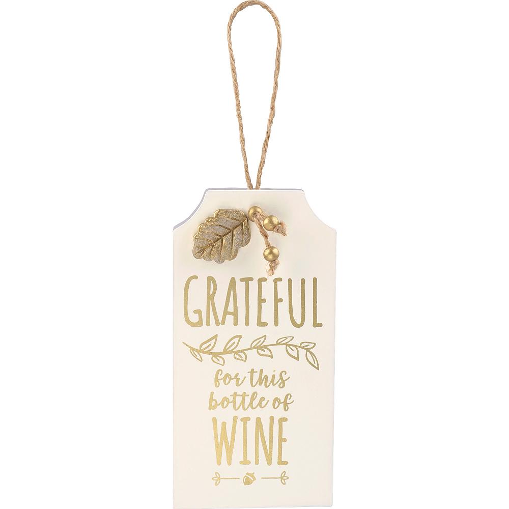 Inspirational Fall Grateful Bottle Tag Image #1