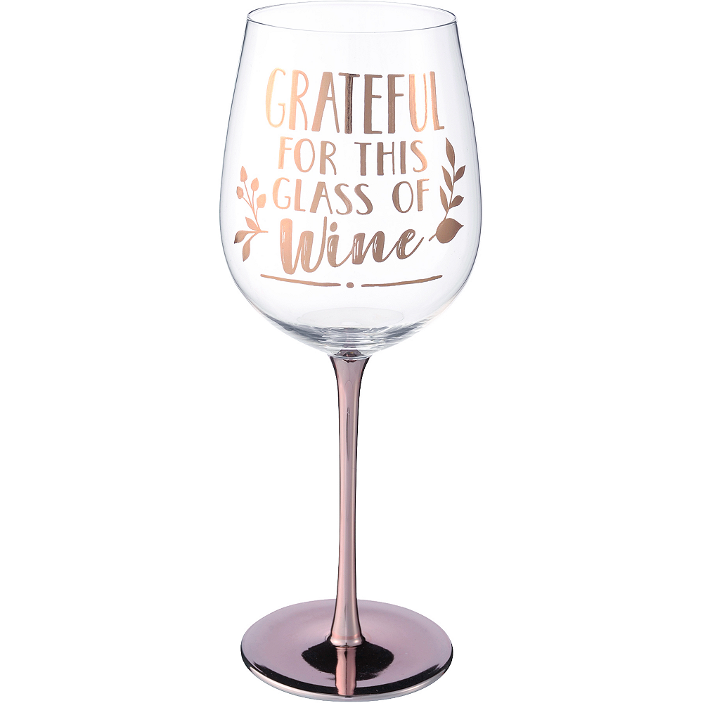 Inspirational Fall Jumbo Wine Glass Image #1
