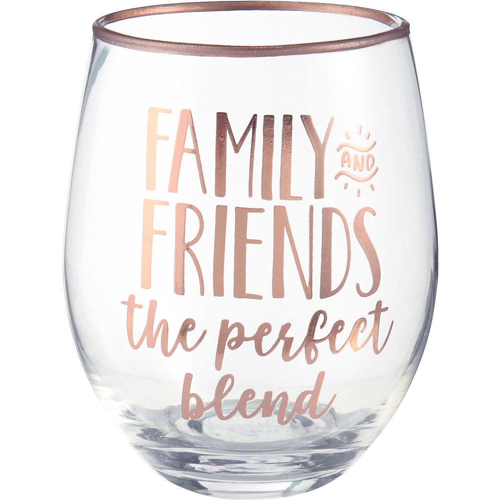 Inspirational Fall Stemless Wine Glasses 4ct Image #3