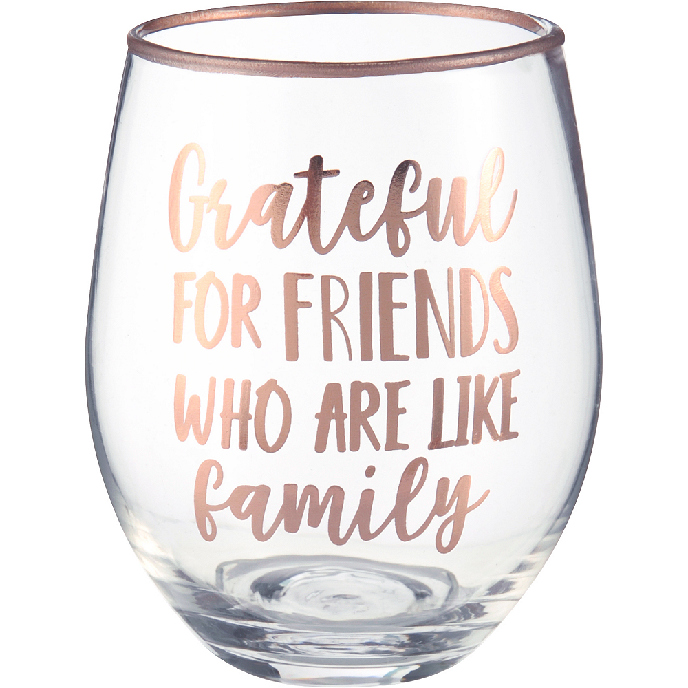 Inspirational Fall Stemless Wine Glasses 4ct Image #4