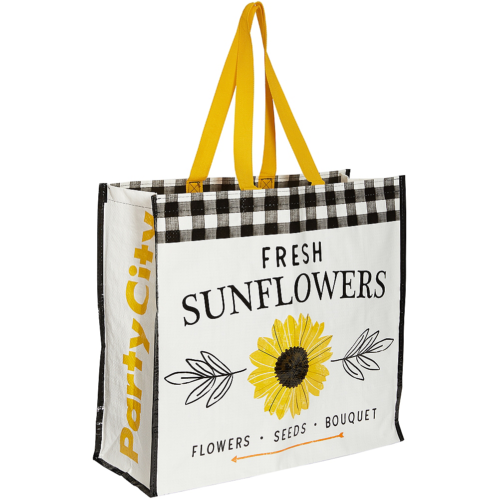 Fresh Sunflowers Tote Bag Image #1
