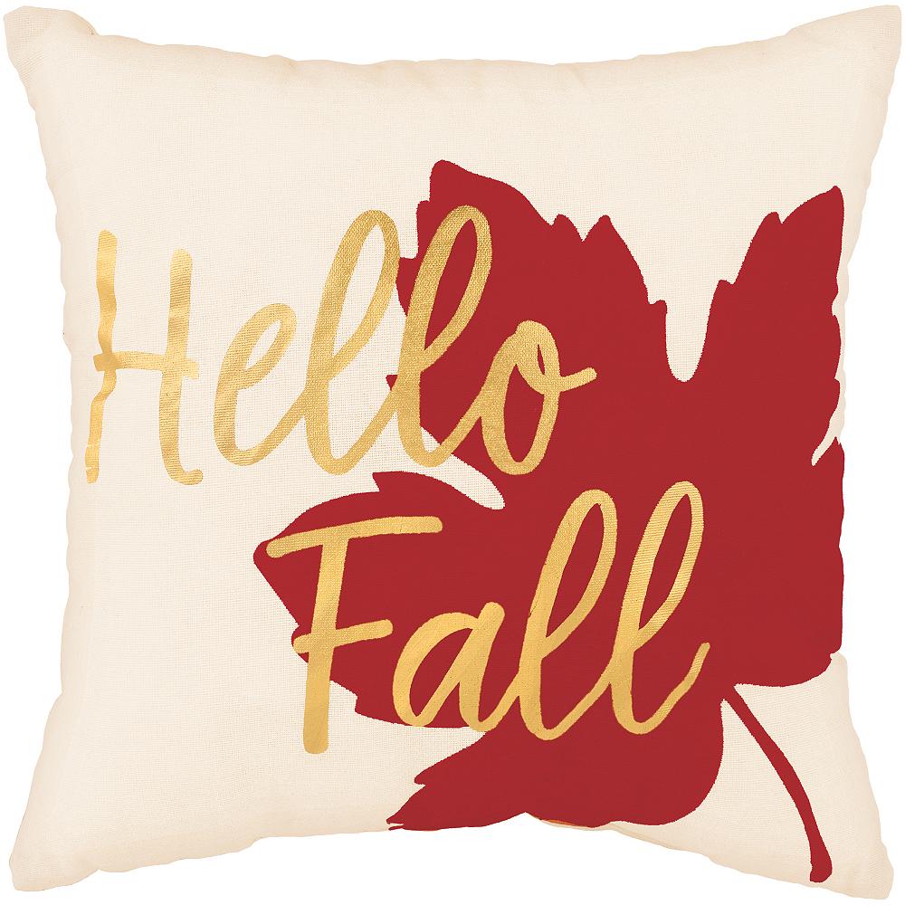 Hello Fall Pillow Image #1