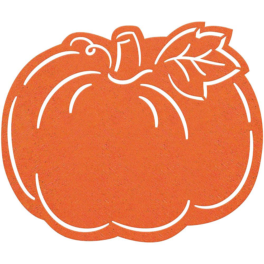Felt Pumpkin Placemat Image #1